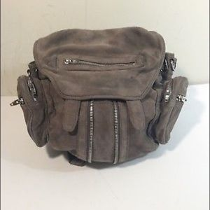Alexander Wang Grey BackPack